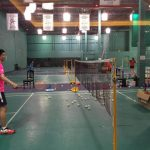 Coaching in Mandarin Badminton Club, Canada (2016)