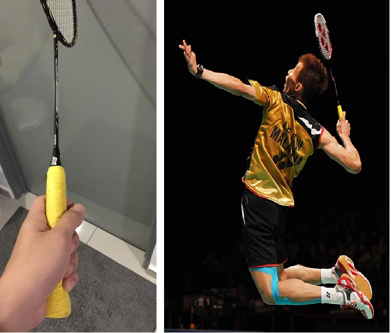 forehand-grip